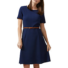 Buy Sugarhill Boutique Belle Fit And Flare Dress, Navy Online at johnlewis.com
