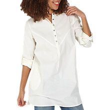 Buy Fat Face Fiona Longline Shirt Online at johnlewis.com