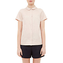 Buy Ted Baker Colour By Numbers Primi Pintuck Detail Shirt, Nude Online at johnlewis.com