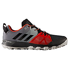 Buy Adidas Kanadia 8.1 Trail Men's Running Shoes, Black Online at johnlewis.com