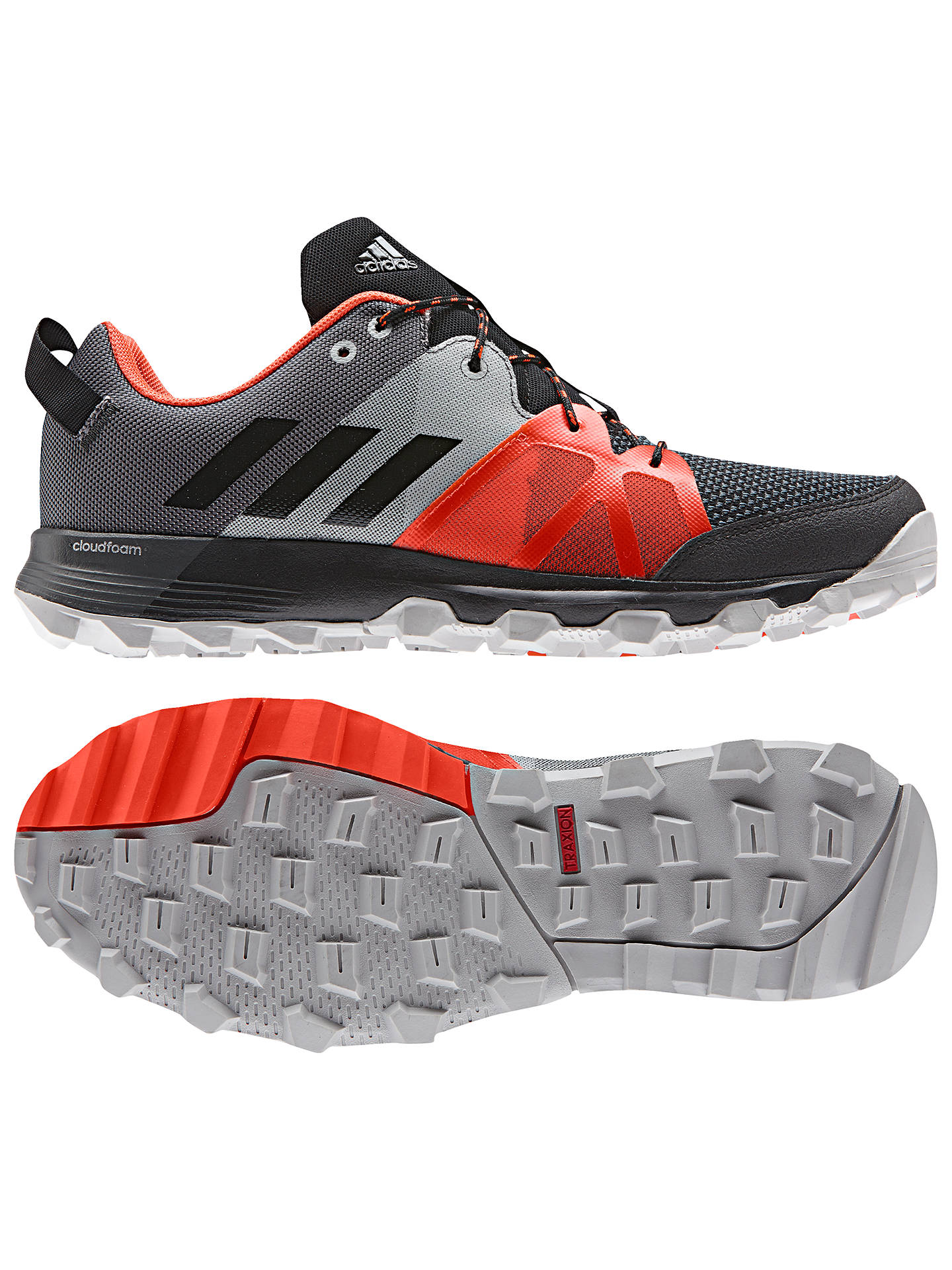 adidas Kanadia 8.1 Trail Men's Running Shoes, Black at John ...