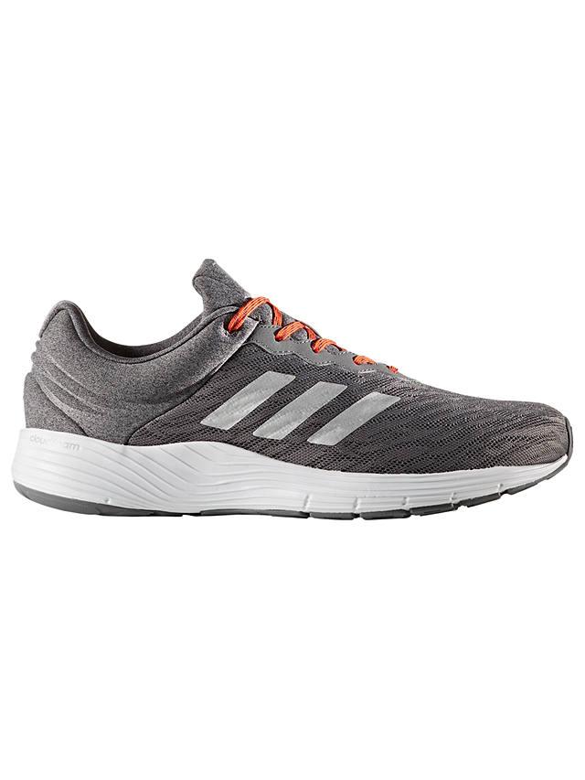 adidas Fluid Cloud Men's Running Shoes, Grey at John Lewis & Partners