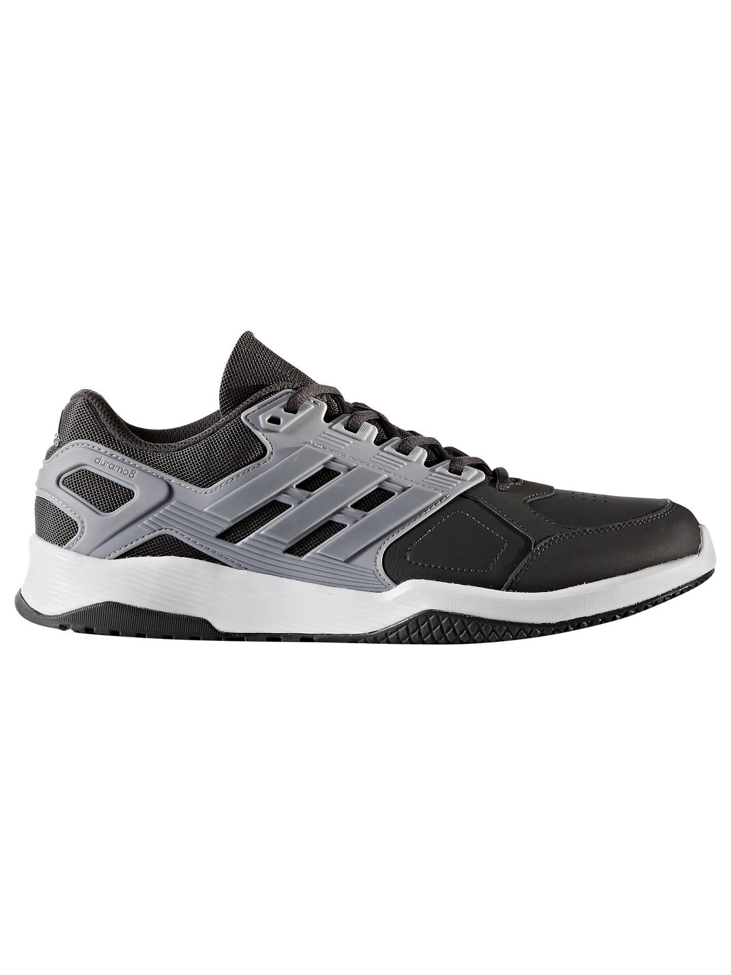 separation shoes 45f56 eda69 Buy adidas Duramo 8 Men s Training Shoes, Black, Black, 7 Online at  johnlewis ...