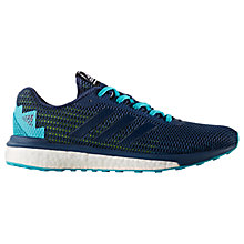 Buy Adidas Vengeful Men's Running Shoes, Blue Online at johnlewis.com
