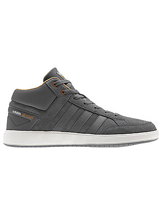 adidas Cloudfoam All Court Mid Men's Trainers, Grey at John Lewis ...