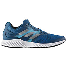 Buy Adidas Aerobounce Men's Running Shoes, Blue Online at johnlewis.com