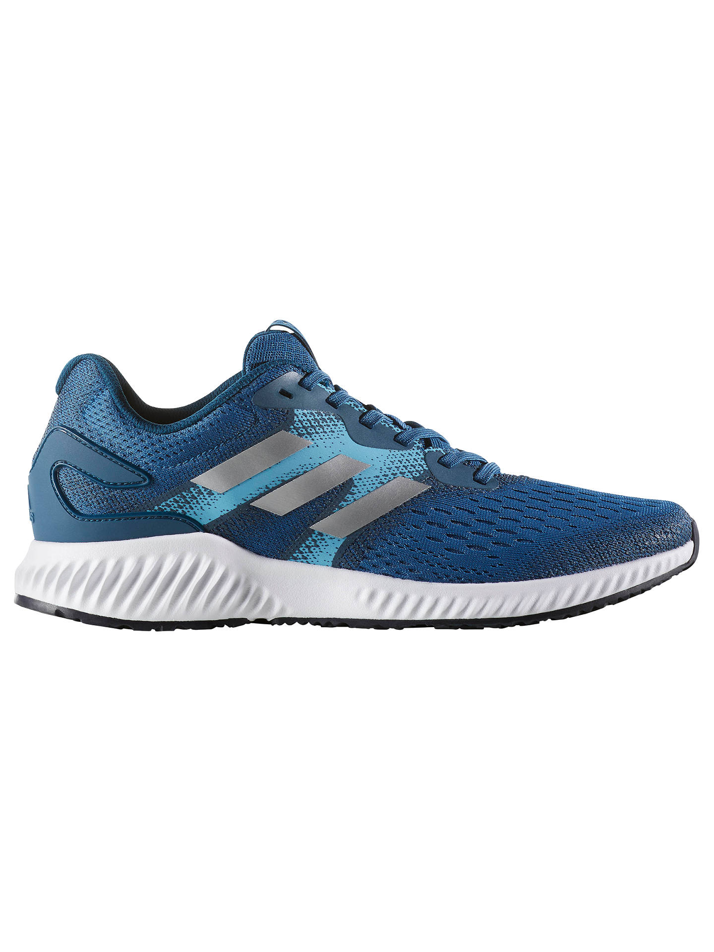 new style d2bf3 2c7b4 Buyadidas Aerobounce Mens Running Shoes, Blue, Blue, 7 Online at  johnlewis. ...