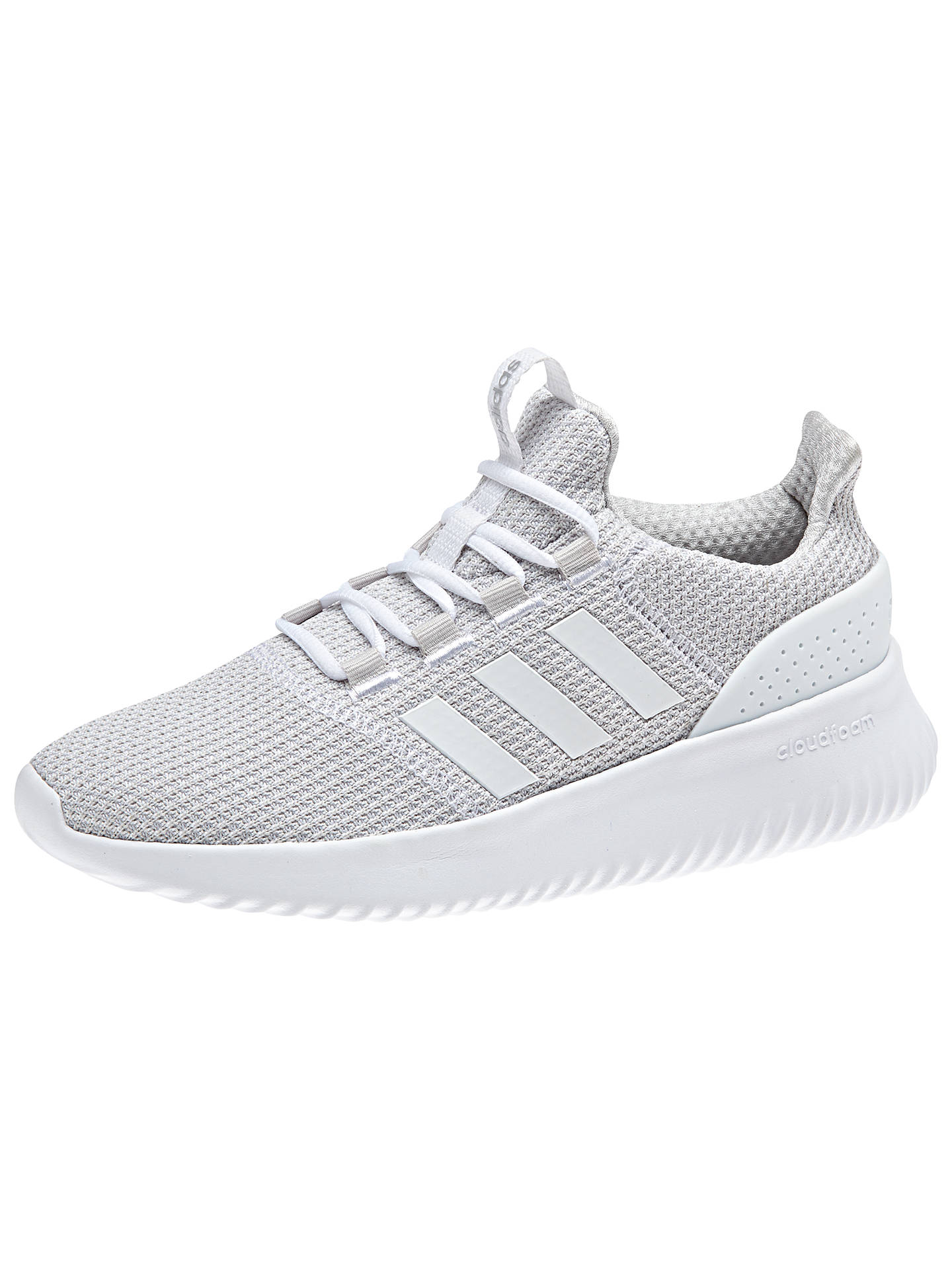 adidas cloudfoam trainers women grey