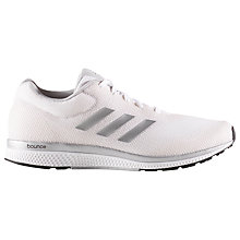 Buy Adidas Mana Bounce Women's Running Shoes, White Online at johnlewis.com