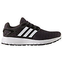 Buy Adidas Energy Cloud Men's Running Shoes, Black Online at johnlewis.com