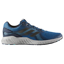Buy Adidas Aerobounce ST Men's Running Shoes, Blue Online at johnlewis.com