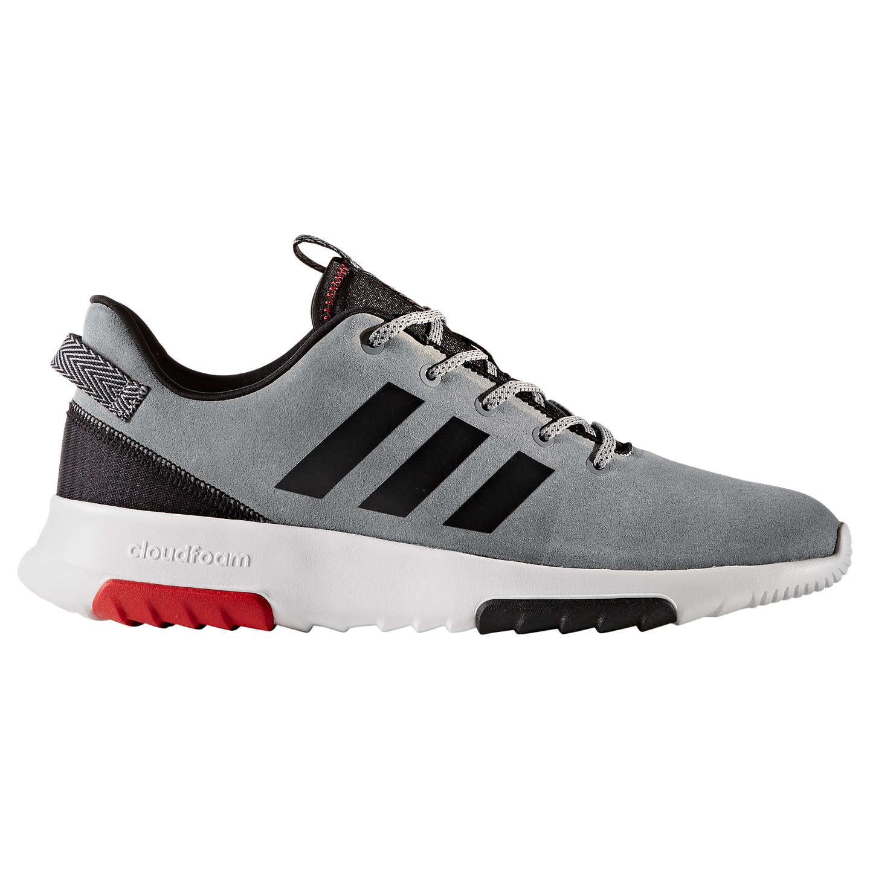 adidas cloudfoam racer tr gli allenatori, grigio / nero / scarlet a john