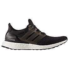 Buy Adidas UltraBOOST Men's Running Shoes, Petrol Night Black Online at johnlewis.com