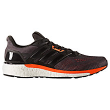 Buy Adidas Supernova Men's Running Shoes, Black/Solar Orange Online at johnlewis.com