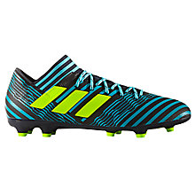 Buy Adidas Nemeziz 17.3 Firm Ground Football Boots, Legend Ink Online at johnlewis.com