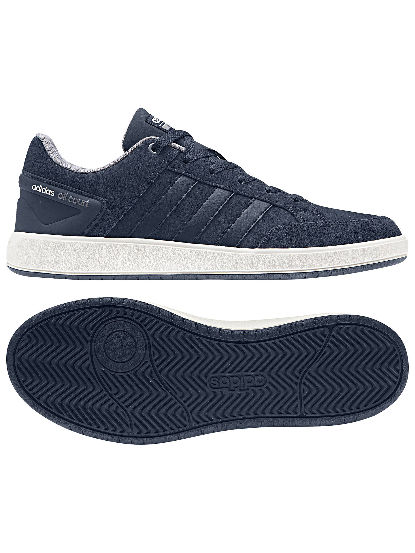 preschool adidas Cloudfoam adidas Cloudfoam All Court Men's Trainers at John Lewis & Partners