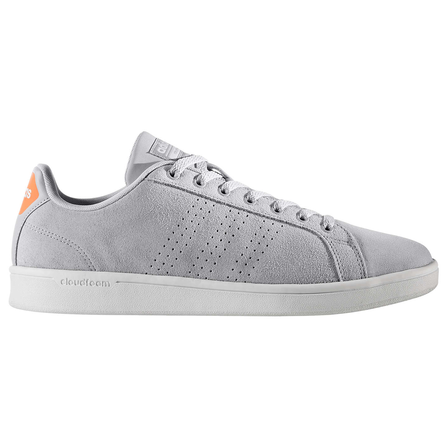 Buyadidas Cloudfoam Advantage Clean Men's Trainers, Grey, 7 Online at  johnlewis. ...