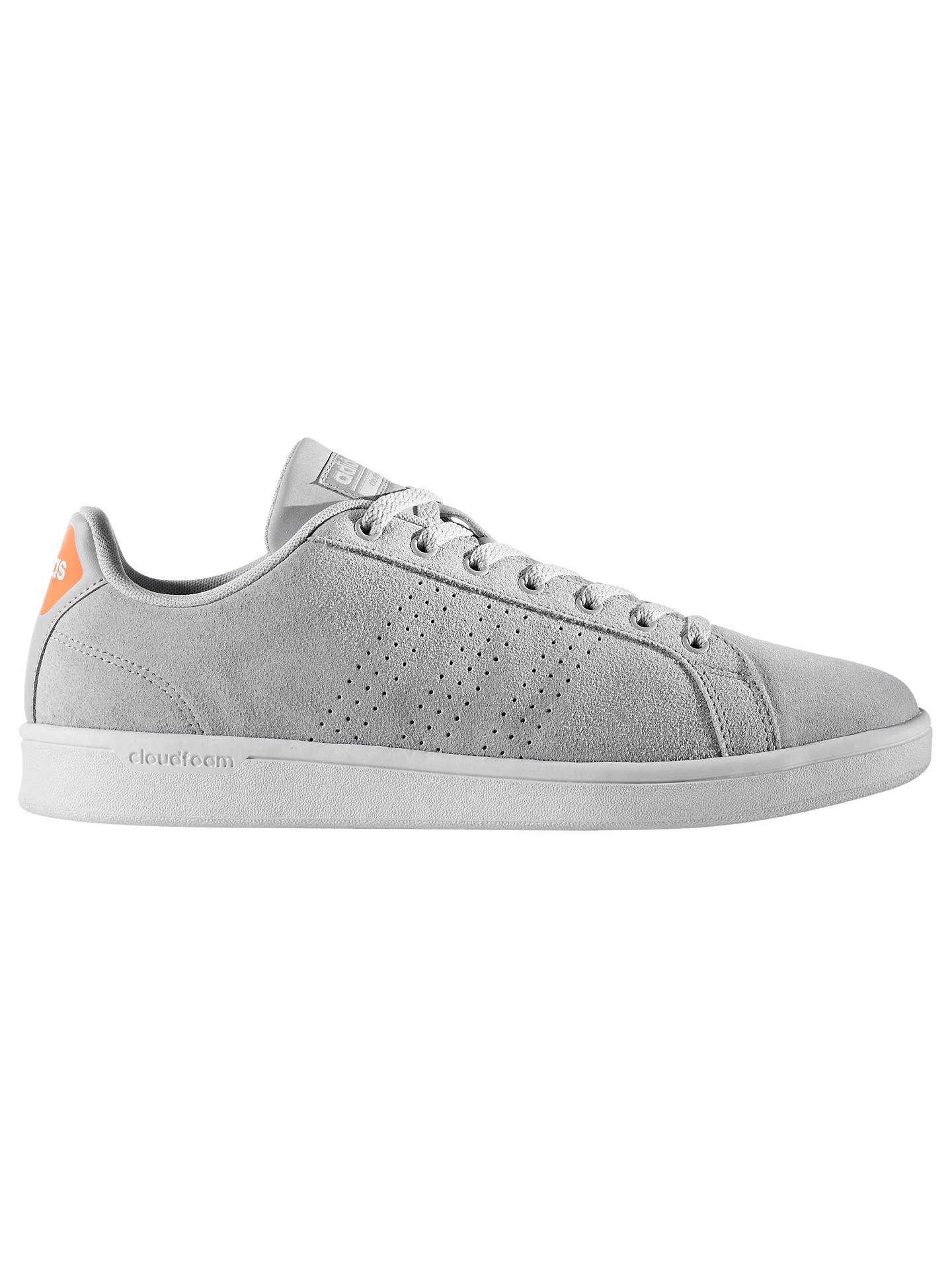 adidas Cloudfoam Advantage Clean Men's Trainers, Grey at