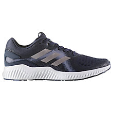 Buy Adidas Aerobounce ST Women's Running Shoes, Blue Online at johnlewis.com