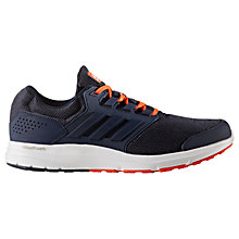 Buy Adidas Galaxy 4 Men's Running Shoes, Blue Online at johnlewis.com
