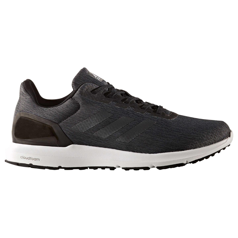Adidas cosmico uomini scarpe da corsa, nero john lewis