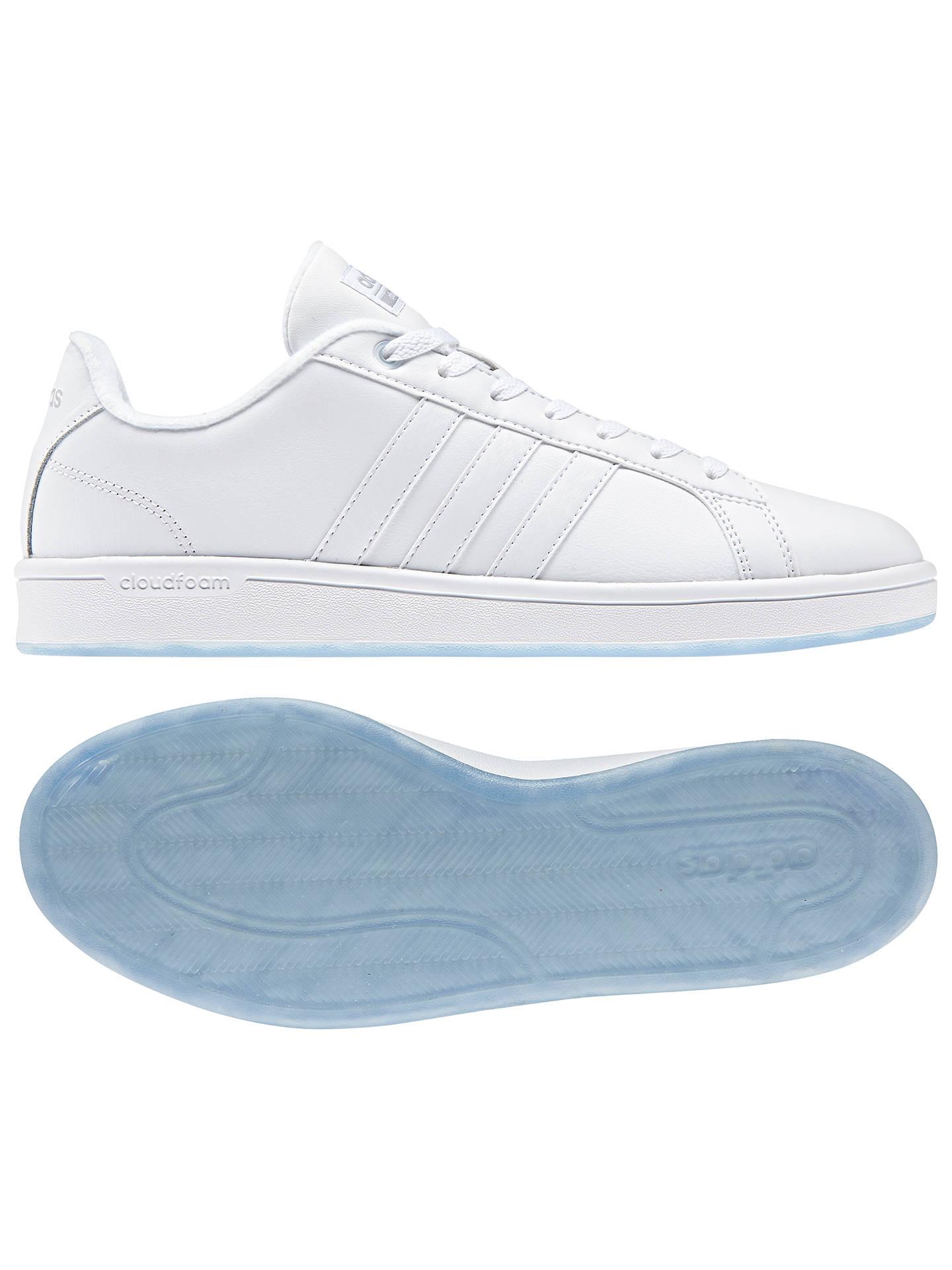 zniżka oryginalne buty ponadczasowy design adidas Neo Cloudfoam Advantage Men's Trainers, White at John ...