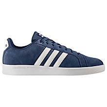 Buy Adidas Neo Cloudfoam Advantage Men's Trainer, Blue Online at johnlewis.com