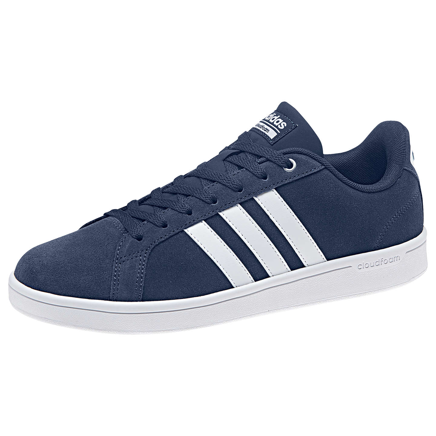 adidas neo cloudfoam advantage men's trainer blue