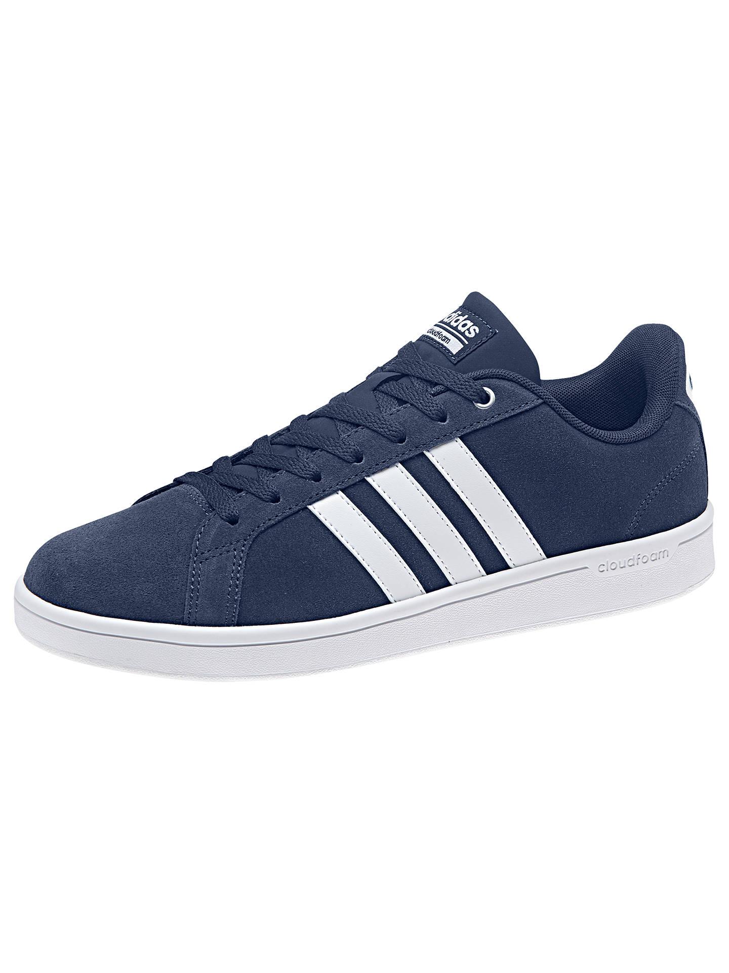 on sale 80b34 2cbab ... Buy adidas Neo Cloudfoam Advantage Men s Trainers, Blue, 7 Online at  johnlewis. ...