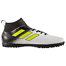 Buy Adidas Ace Tango 17.3 Primemesh AG Men's Turf Football Boots, White/Black/Yellow Online at johnlewis.com