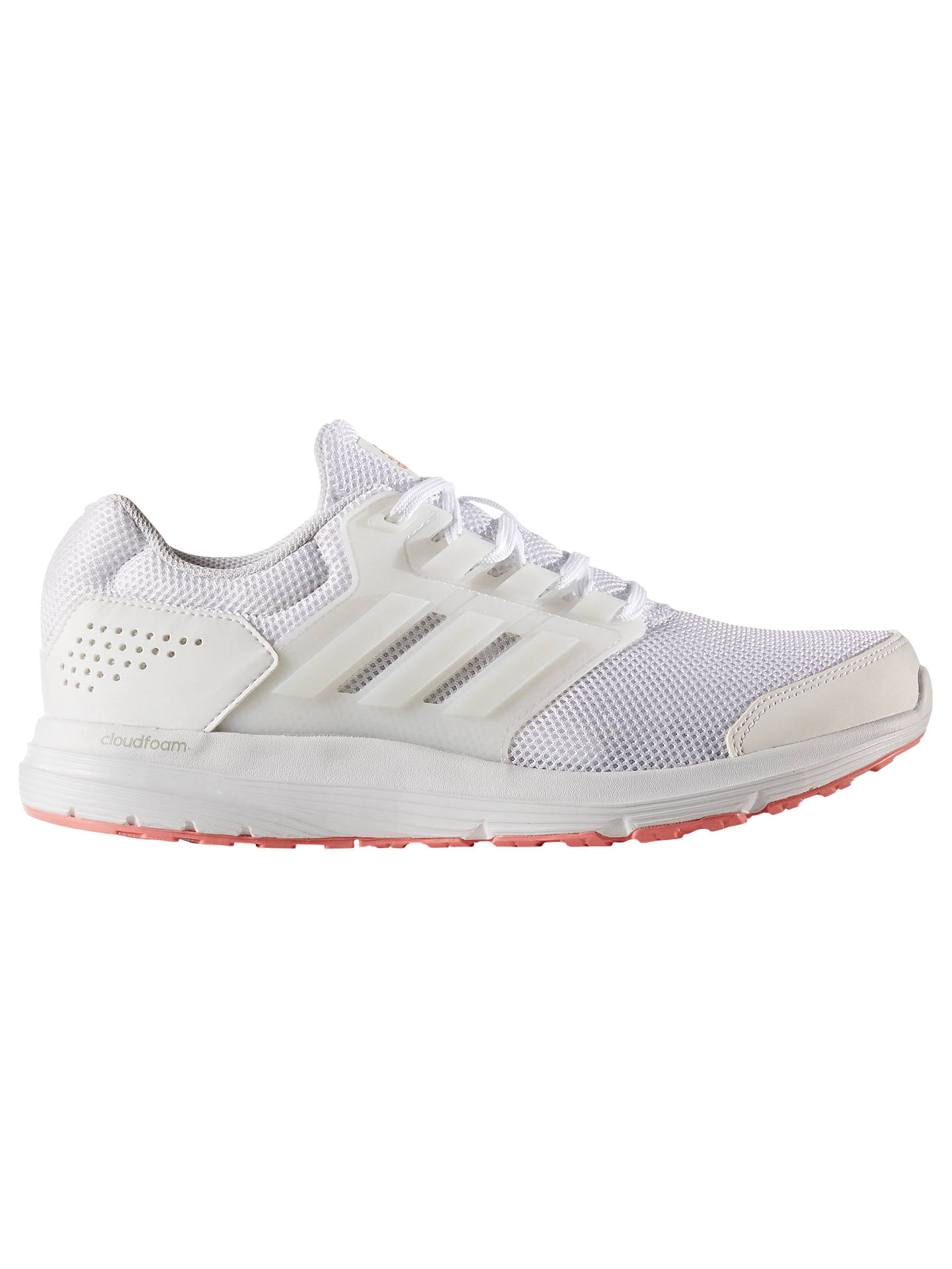 promo code c62af 32109 Buyadidas Galaxy 4 Womens Running Shoes, WhiteRose, 4 Online at johnlewis.