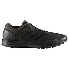 Buy Adidas Mana Bounce 2.0 Men's Running Shoes, Core Black/Onix Online at johnlewis.com