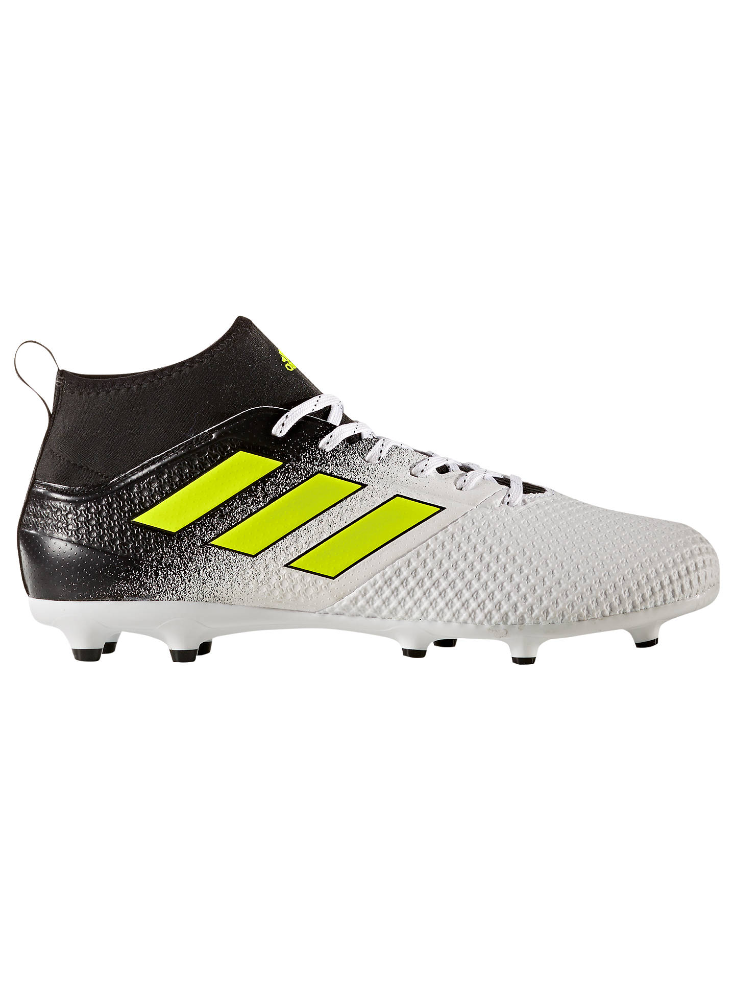 84d853b502e96 adidas Ace 17.3 Primemesh AG Men's Firm Ground Football Boots, White ...