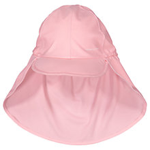 Buy Polarn O. Pyret Children's Legionnaire Sun Hat, Pink Online at johnlewis.com