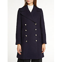Buy Somerset by Alice Temperley Pea Coat, Navy Online at johnlewis.com
