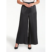 Buy Bruce by Bruce Oldfield Wide Leg Trousers, Black Online at johnlewis.com