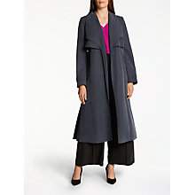 Buy Bruce by Bruce Oldfield Twill Trench Coat, Navy Online at johnlewis.com