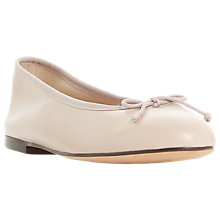 Buy Dune Black Hallam Slip On Ballet Pumps Online at johnlewis.com