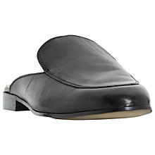 Buy Dune Black Guilde Mule Loafers Online at johnlewis.com