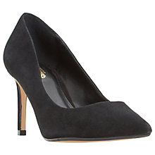 Buy Dune Wide Fit Abbigail Stiletto Heeled Court Shoes, Black Online at johnlewis.com