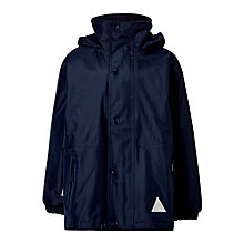 Buy John Lewis Reversible School Coat, Blue Online at johnlewis.com