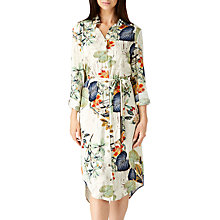 Buy Sugarhill Boutique Reva Palm Print Shirt Dress, Multi Online at johnlewis.com