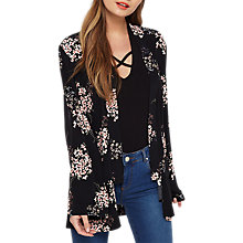 Buy Miss Selfridge Floral Printed Kimono, Multi Online at johnlewis.com