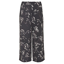 Buy Mint Velvet Erika Print Wide Leg Cropped Trousers, Multi Online at johnlewis.com