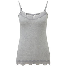 Buy Pure Collection Lace Jersey Camisole Online at johnlewis.com