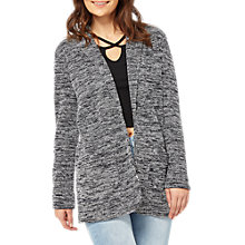 Buy Miss Selfridge Space Dye Boyfriend Blazer, Grey Online at johnlewis.com