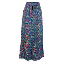 Buy Fat Face Amber Jewel Geo Maxi Skirt, Indigo Online at johnlewis.com
