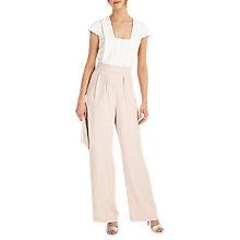 Buy Phase Eight Darrah Jumpsuit, Cameo/Ivory Online at johnlewis.com