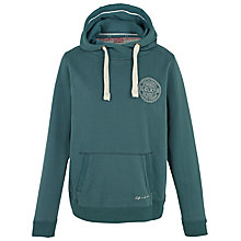 Buy Fat Face South Coast Hoodie, Seagreen Online at johnlewis.com