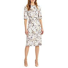 Buy Phase Eight Ember Floral Print Dress, Mineral Online at johnlewis.com